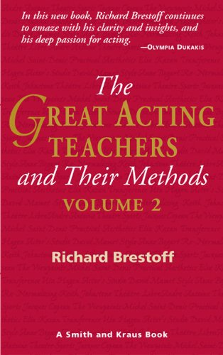 Great Acting Teachers and Their Methods N/A edition cover