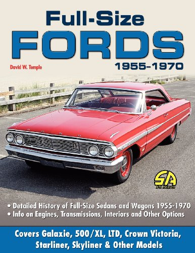 Full Size Fords 1955-1970  N/A 9781613250709 Front Cover