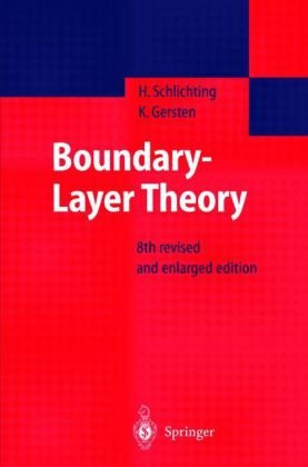 Boundary-Layer Theory  8th 2000 edition cover
