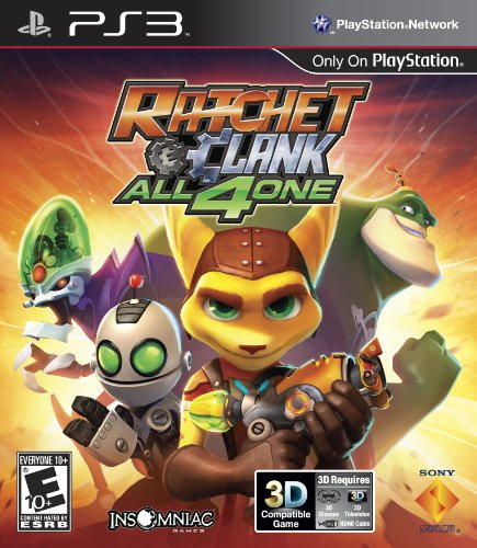 Ratchet and Clank: All 4 One - Playstation 3 PlayStation 3 artwork