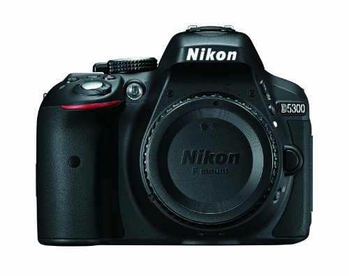 Nikon D5300 24.2 MP CMOS Digital SLR Camera with Built-in Wi-Fi and GPS Body Only (Black) product image