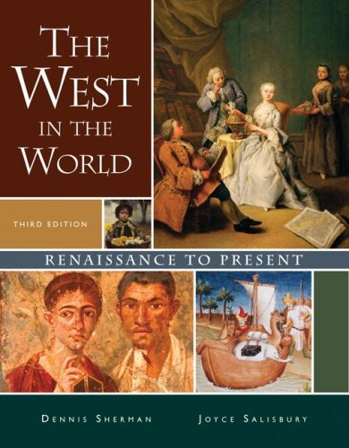 West in the World Renaissance to Present 3rd 2008 9780073316710 Front Cover