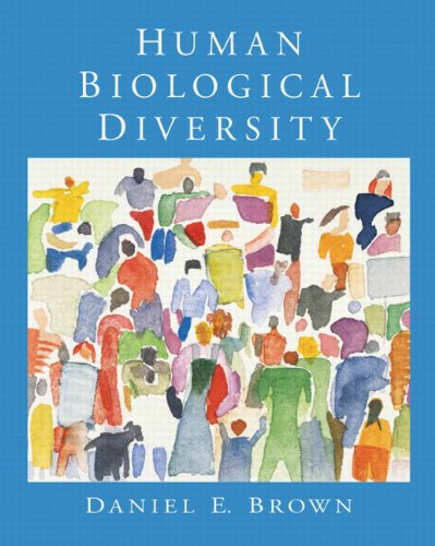Human Biological Diversity   2010 edition cover