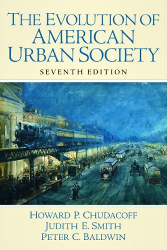 Evolution of American Urban Society  7th 2010 edition cover