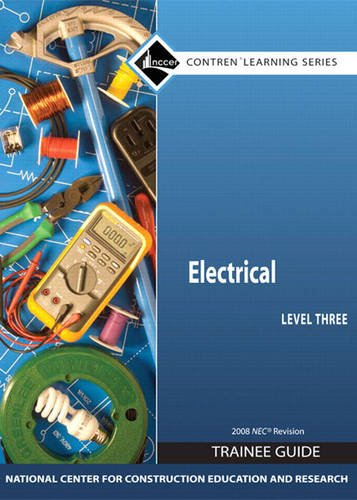 Electrical Level 3 Trainee Guide 2008 NEC, Paperback   2009 edition cover