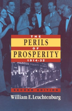 Perils of Prosperity, 1914-1932  2nd 1993 edition cover