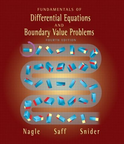 Fundamentals of Differential Equations and Boundary Value Problems  3rd 2004 (Revised) 9780321145710 Front Cover
