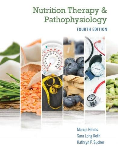 Nutrition Therapy and Pathophysiology:   2019 9780357041710 Front Cover