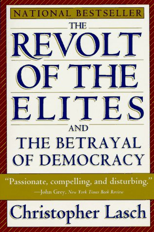 Revolt of the Elites   1995 edition cover