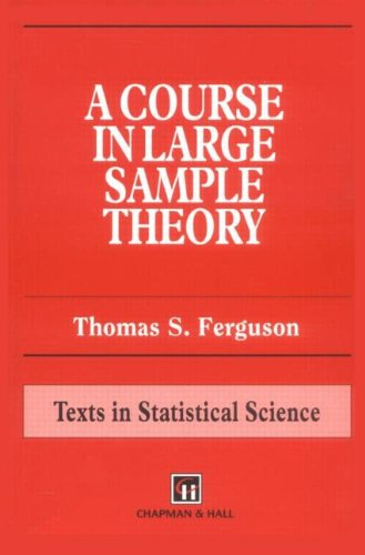 Course in Large Sample Theory   1996 edition cover