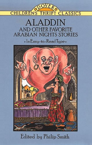 Aladdin and Other Favorite Arabian Nights Stories   1993 (Reprint) edition cover