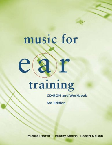 Music for Ear Training  3rd 2009 (Revised) edition cover