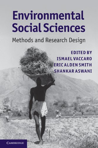 Environmental Social Sciences Methods and Research Design  2010 edition cover