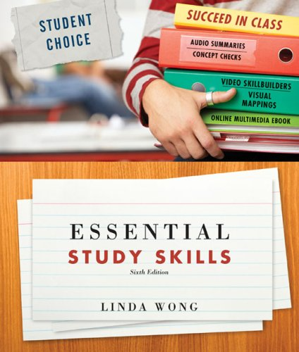 Essential Study Skills  6th 2009 9780547048710 Front Cover