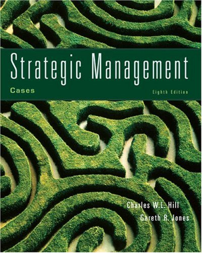 Cases in Strategic Management  8th 2008 9780618894710 Front Cover