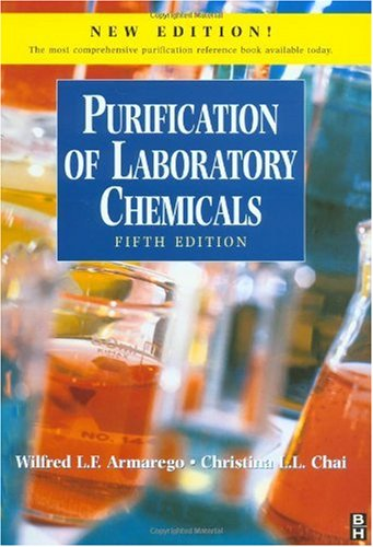 Purification of Laboratory Chemicals  5th 2003 (Revised) 9780750675710 Front Cover