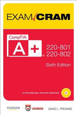 CompTIA A+ 220-801 and 220-802  6th 2013 9780789749710 Front Cover