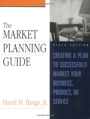 Market Planning Guide  6th 2002 (Revised) edition cover