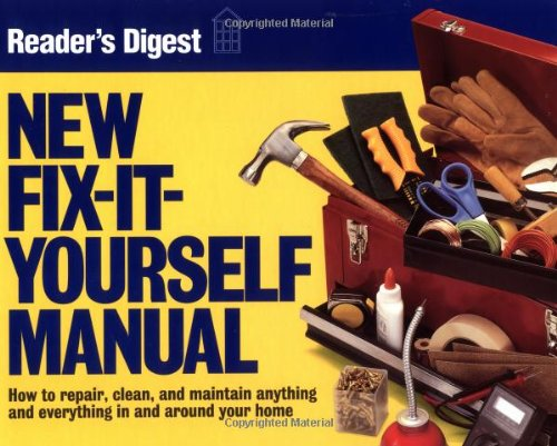 New Fix-It-Yourself Manual  N/A edition cover