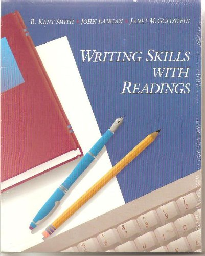 Writing Skills with Readings N/A 9780944210710 Front Cover