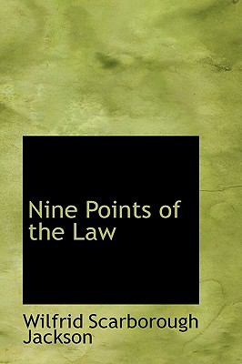 Nine Points of the Law:   2009 edition cover