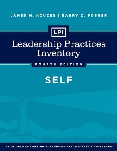 Leadership Practices Inventory - Self  4th 2013 edition cover