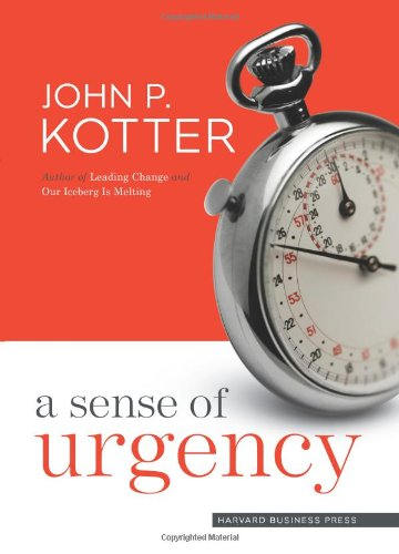 Sense of Urgency   2008 edition cover