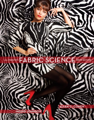 Fabric Sciences, 9th Edition Binder Version 9th 2010 edition cover