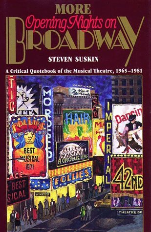 More Opening Nights on Broadway N/A edition cover
