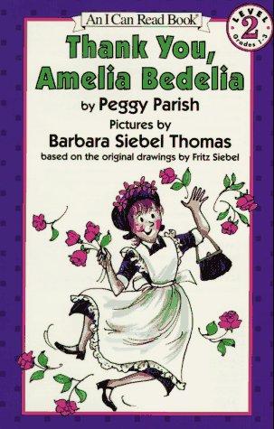 Thank You, Amelia Bedelia   1993 edition cover