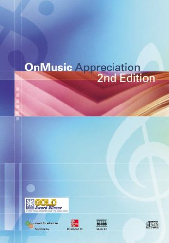 OnMusic Appreciation  2nd 2008 edition cover