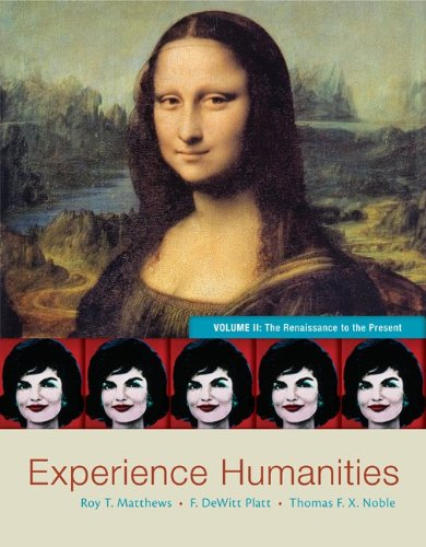 Experience Humanities The Renaissance to the Present 8th 2014 edition cover