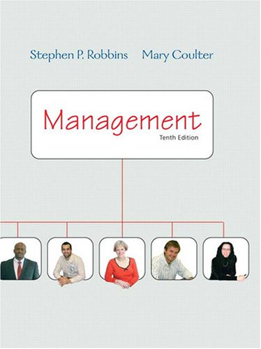 Management  10th 2009 9780132090711 Front Cover