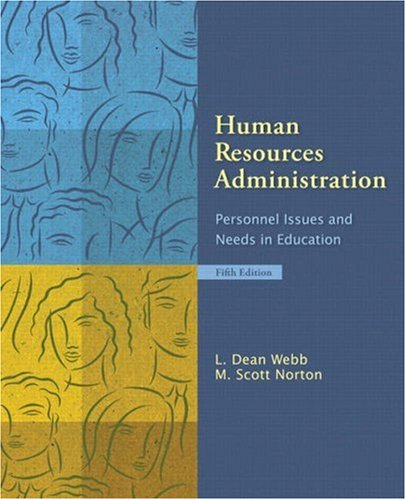 Human Resources Administration Personnel Issues and Needs in Education 5th 2009 edition cover