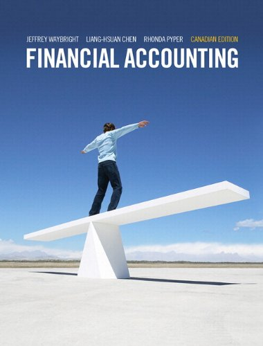Financial Accounting   2013 9780132889711 Front Cover