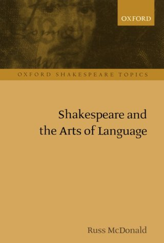 Shakespeare and the Arts of Language   2001 edition cover