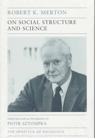 On Social Structure and Science   1996 (Reprint) edition cover
