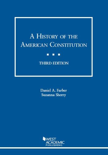 A History of the American Constitution:   2013 edition cover