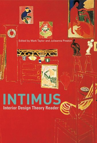 Intimus Interior Design Theory Reader  2006 edition cover