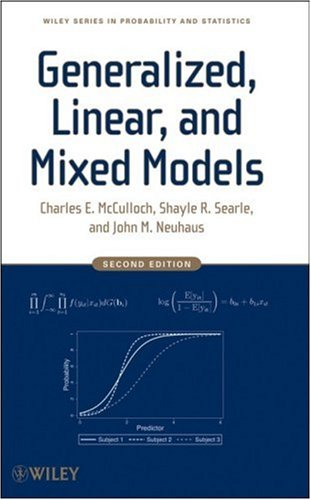 Generalized, Linear, and Mixed Models  2nd 2008 9780470073711 Front Cover
