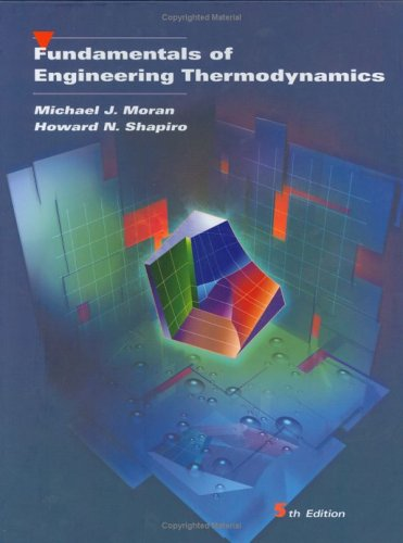 Fundamentals of Engineering Thermodynamics  5th 2004 (Revised) edition cover