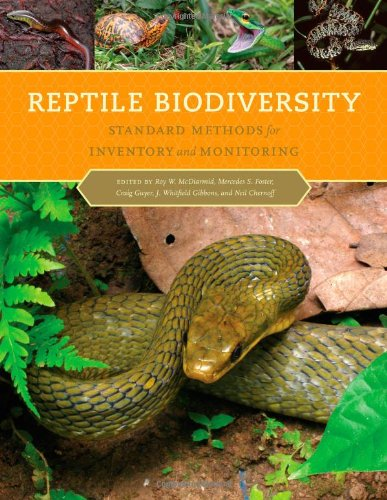 Reptile Biodiversity Standard Methods for Inventory and Monitoring  2012 edition cover