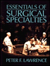 Essentials of Surgical Specialties 1st 1969 9780683048711 Front Cover