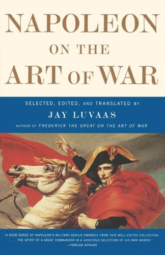 Napoleon on the Art of War   2001 edition cover