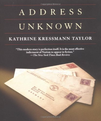 Address Unknown   2001 (Reprint) edition cover