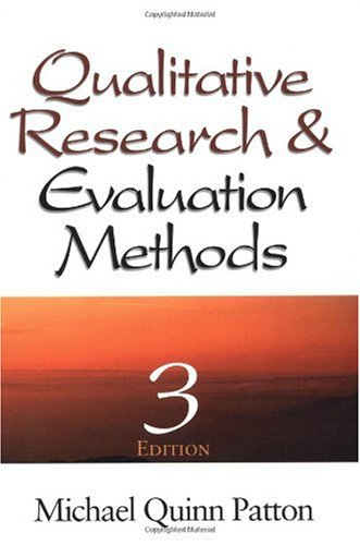 Qualitative Research and Evaluation Methods  3rd 2001 (Revised) edition cover