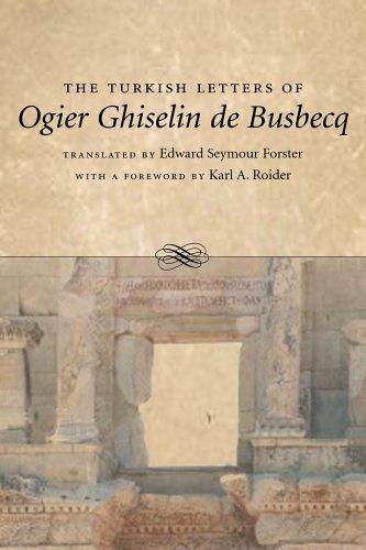 Turkish Letters of Ogier Ghiselin de Busbecq   2005 edition cover