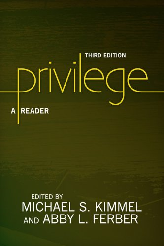 Privilege A Reader 3rd 2014 edition cover