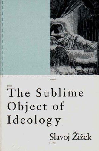 Sublime Object of Ideology   1989 edition cover