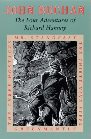 Four Adventures of Richard Hannay The Thirty-Nine Steps; Greenmantle; Mr. Standfast; the Three Hostages N/A edition cover